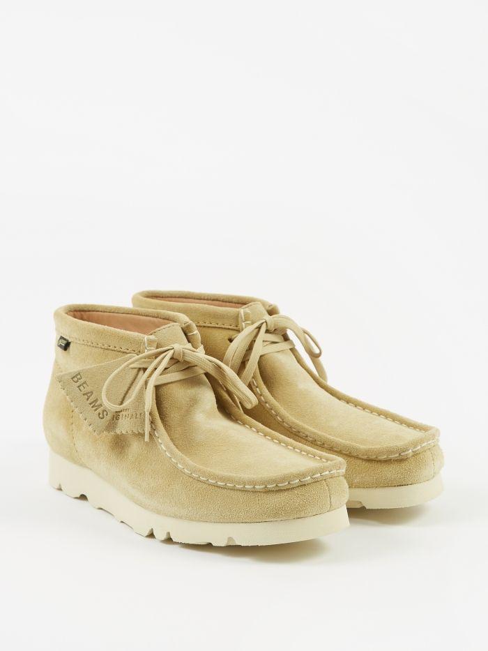 1a5de2c550e Clarks x Beams Wallabee Boot GTX - Maple Suede | Creps | Clarks ...