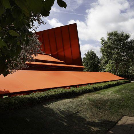 Jean Nouvel's Serpentine Gallery Pavilion in Kensington Gardens, London - by French photographer Julien Lanoo.