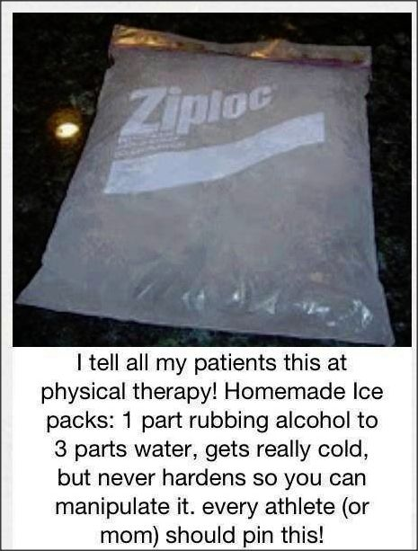 Easy Ice Packs for Injuries
