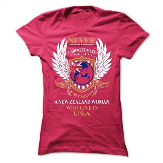 NEVER UNDERESTIMATE A WOMAN NEW ZEALAND - #mens dress shirt #funny graphic tees…