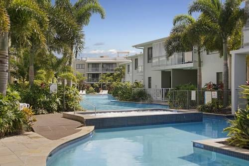 Sand Dunes Resort Accommodation Marcoola Located 150 metres from Marcoola Beach, this resort offers a hot tub, swimming pool and fitness centre. All accommodation features a balcony and flat-screen TV with satellite channels.