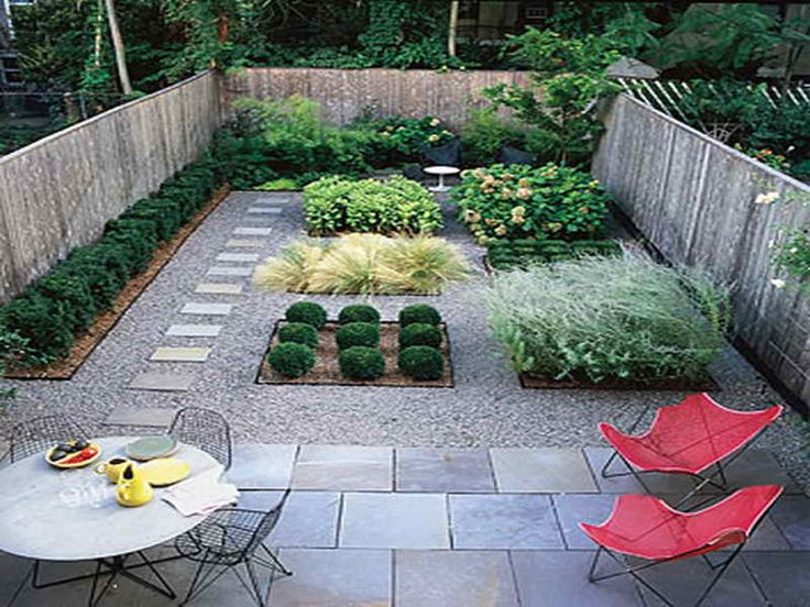 no grass garden ideas - Google Search