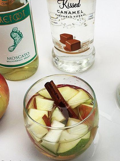 Delicious Drink Recipes: Apple Pie Sangria Recipe