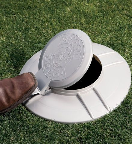 Doggie Dooley ... a mini septic system for your dogs that eliminates the use of plastic bags and additional landfill use.