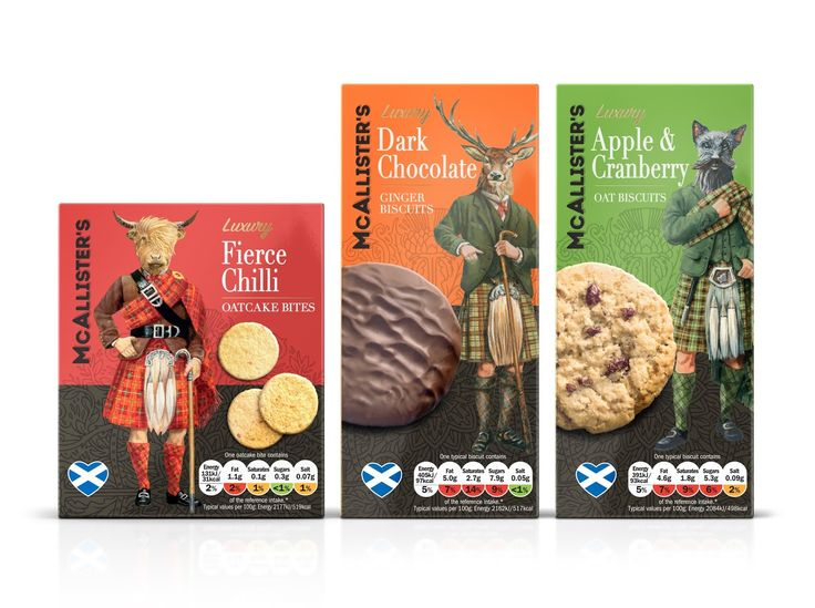 McAllister's Biscuits on Packaging of the World - Creative Package Design Gallery