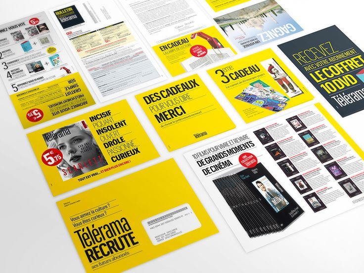 Ynfluence - Création marketing direct pour Télérama