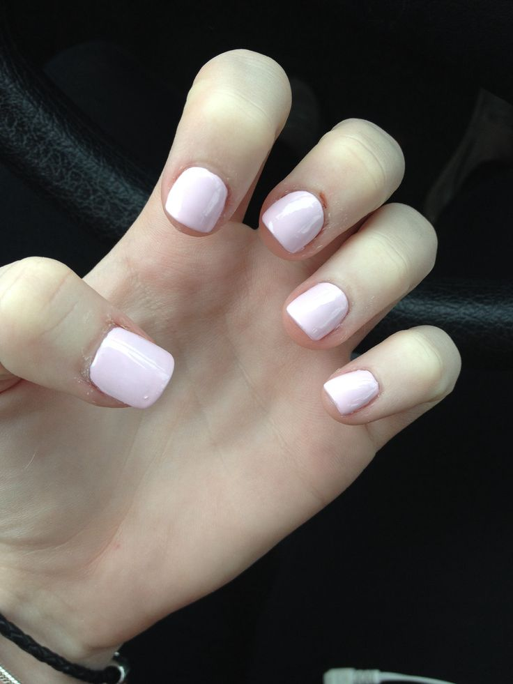 Acrylic NailsLight Pink Acrylic Nails Tumblr