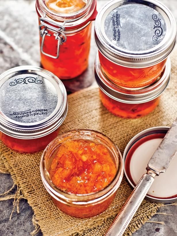 Citrus Marmalade Homemade Gift. Get the Recipe --> http://www.hgtv.com/entertaining/citrus-marmalade-recipe/index.html?soc=pinterest