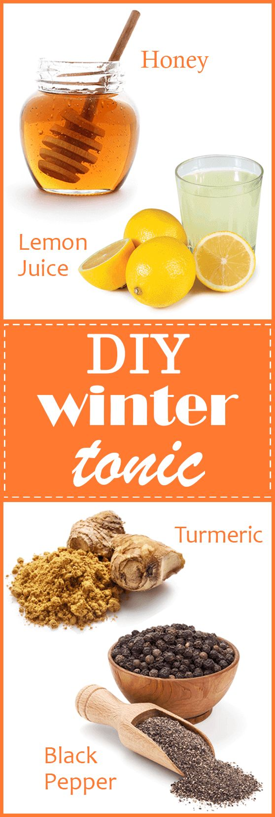 Hint: TONIC CAN STAND UP TO A FEW WEEKS IN THE FRIDGE, BUT STIR IT EVERY TIME BEFORE USE. #health #winter #tonic #home #honey #turmeric #lemon