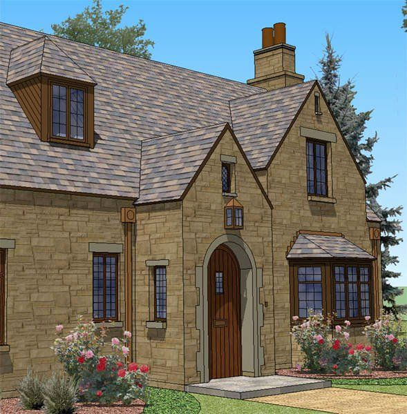 Old English Cottage House Plans Awesome New South Classics English Cottage Classics In 2020 Cottage House Plans Cottage Homes Colonial House Plans