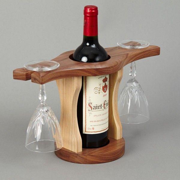 Wine Bottle Glass Holder Wine Bottle Glass Holder Wooden Wine