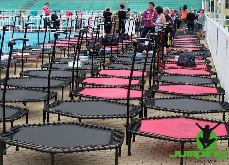 Jumping Fitness - more trampolines = more fun