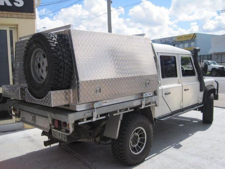 Aluminium Ute Canopy