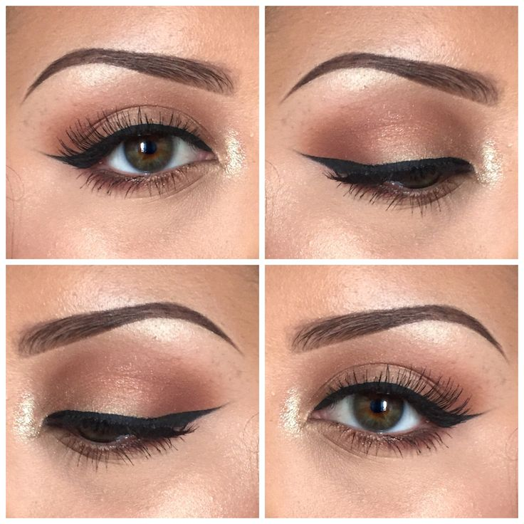 soft bronze eyeshadow -  love the soft shimmer! ~  we ❤ this! moncheribridals.com