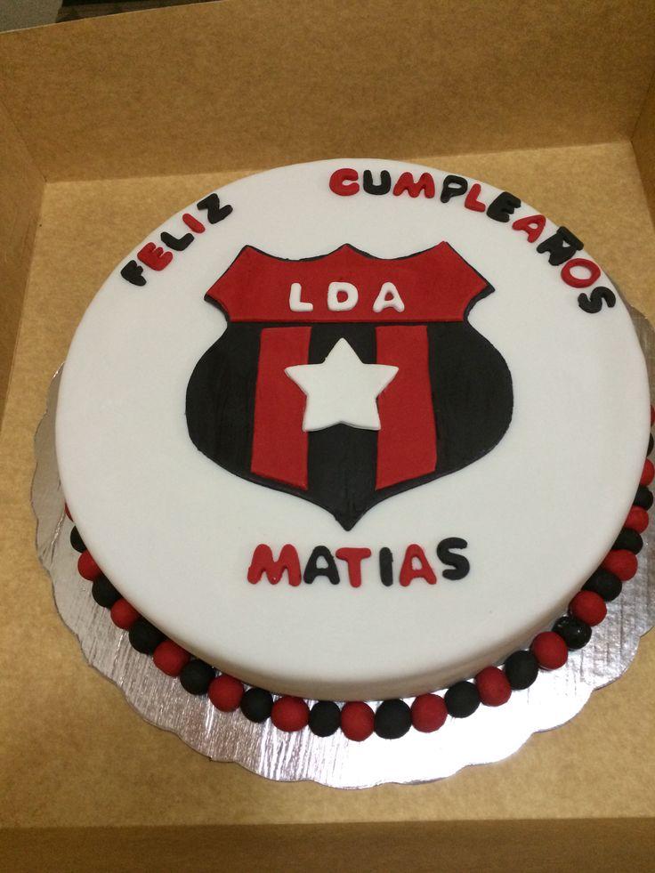 Queque Liga Deportiva Alajuelense Con Nombre De Andrew
