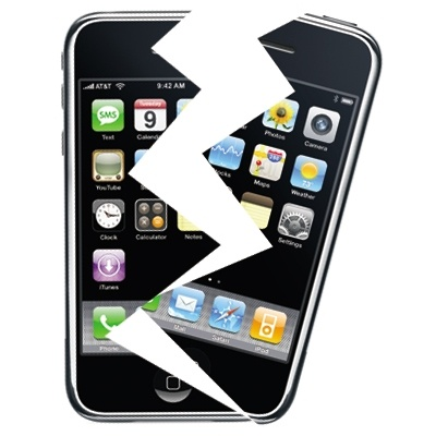 iPhone broken? Short on cash or too lazy to get it properly fixed? NO PROBLEM!
