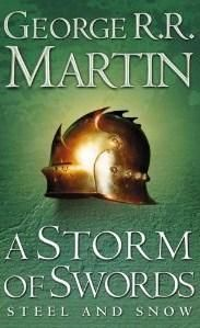 A Storm of Swords (A Song of Ice and Fire, #3) by George R.R. Martin (7. A book with nonhuman characters) #ReadingChallenge