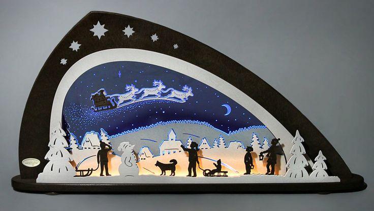 Weigla® Schwibbogen, LED, »Santa Claus« Jetzt bestellen unter: https://moebel.ladendirekt.de/weihnachten/weihnachtsdeko/?uid=d268be4b-9d07-5637-9673-c03c5259665d&utm_source=pinterest&utm_medium=pin&utm_campaign=boards #weihnachten #weihnachtsdeko #dekoratives