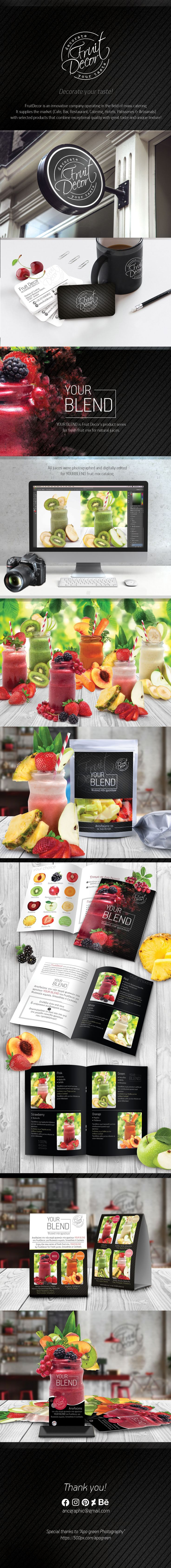 """Check out my @Behance project: """"Fruit Decor Corporate ID & Products"""" https://www.behance.net/gallery/57301077/Fruit-Decor-Corporate-ID-Products"""