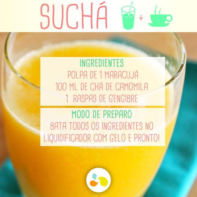 Suco + chá = suchá emagrecedor! http://maisequilibrio.com.br/nutricao/bebidas-que-emagrecem-2-1-1-780.html