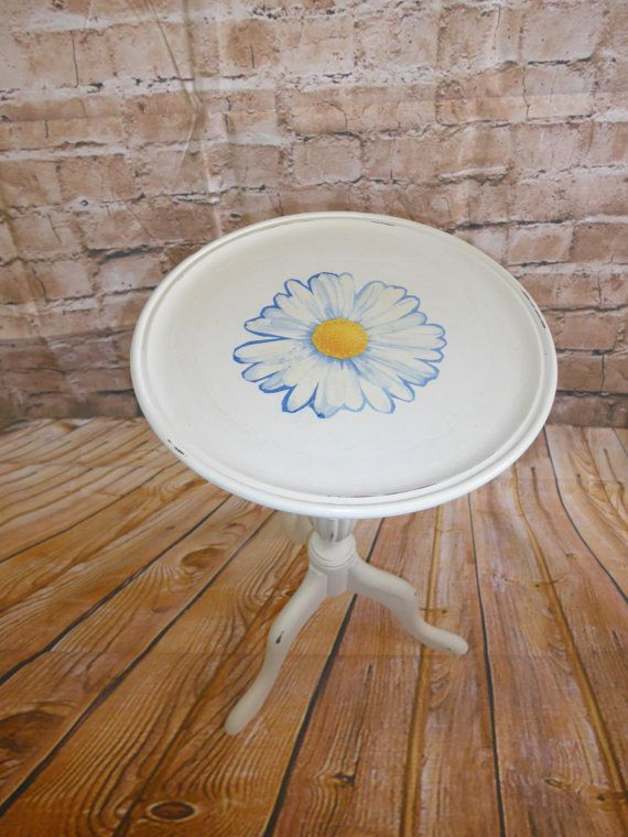 Lovely side table or occasional table  Shabby Chic by RevampedUp
