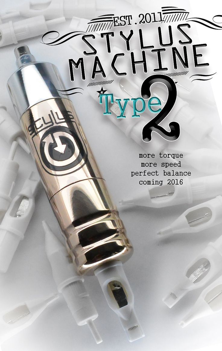 Stylus Rotary Tattoo Machines Tattoo machine, Best
