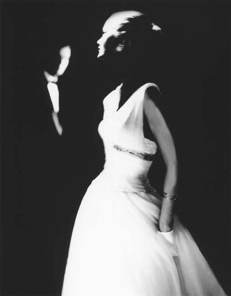 Model Margie Cato in Junior Bazaar, 1950. Photographed by Lillian Bassman.