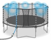 50 fun things to do on a Trampoline.  Harvey's getting one for Christmas, don't tell him!