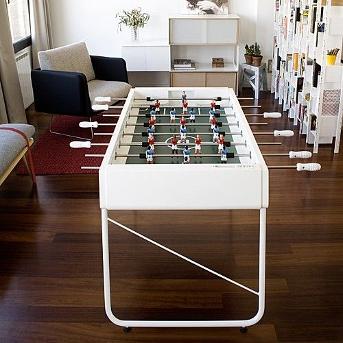 Provide a space to play and socialize with friends by including something everyone can enjoy.