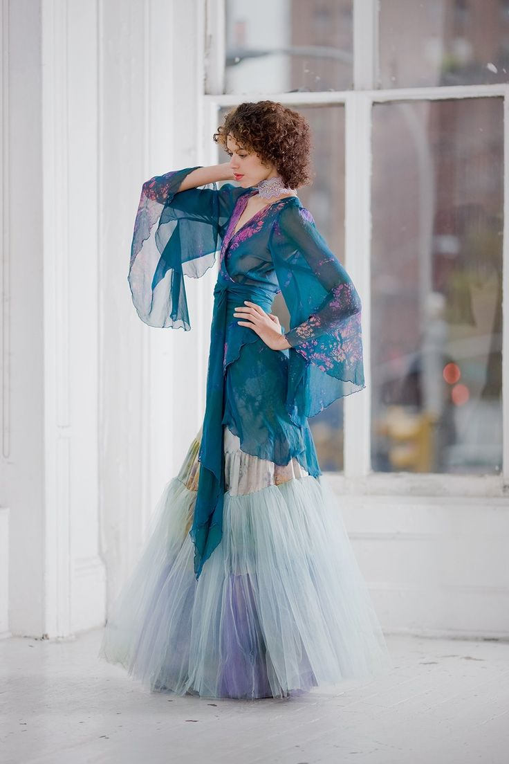 Petite small silk chiffon wrap blouse with butterfly for Petite maxi dresses for beach wedding