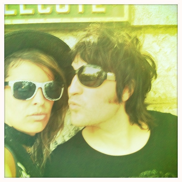 noel fielding and lliana bird, or as they are known to their adoring fans, noelliana.  they are so fabulously attractive.