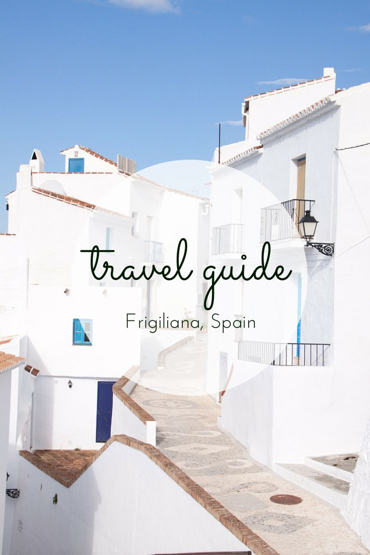 Travel guide: Frigiliana this beautiful little town is situated high in mountains in Andalusian Spain.