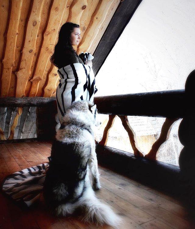 Good morning .. The weather pleases ...  #siberian_husky_world_feature #siberian_husky_world #ХаскиФанатик #хаскисозданыдляласки #my_husky This pic is super by: @___viktoriya___1