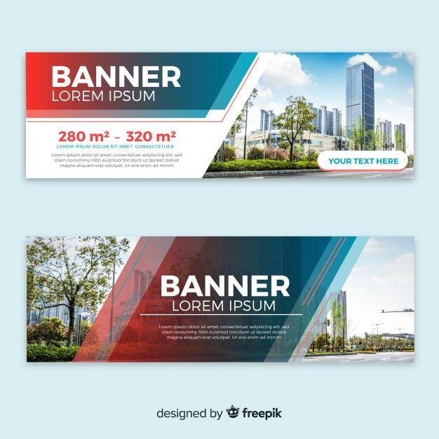 Download Modern Building Banners With Photo For Free Web Banner Design Website Banner Design Banner Design Layout