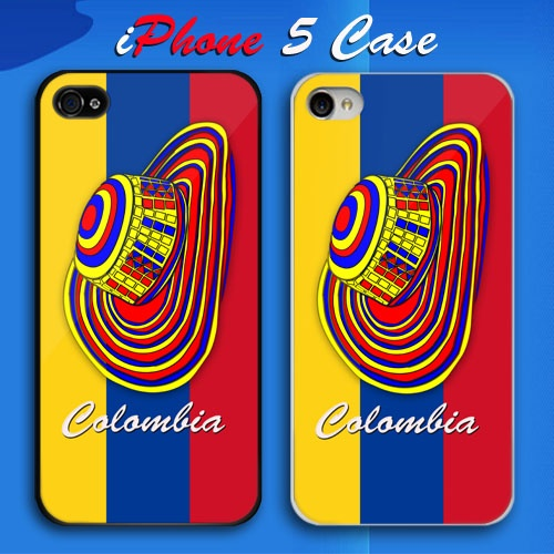 Colombia Colombian Flag Custom iPhone 5 Case Cover