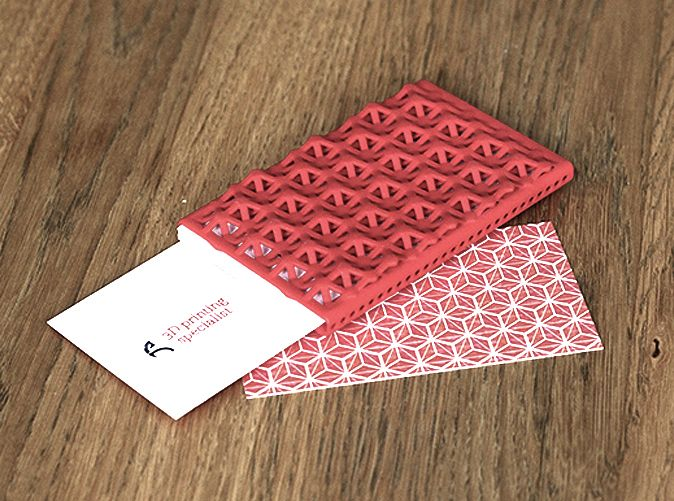 Custom Business Card Case 3d Printing News 3d Printing