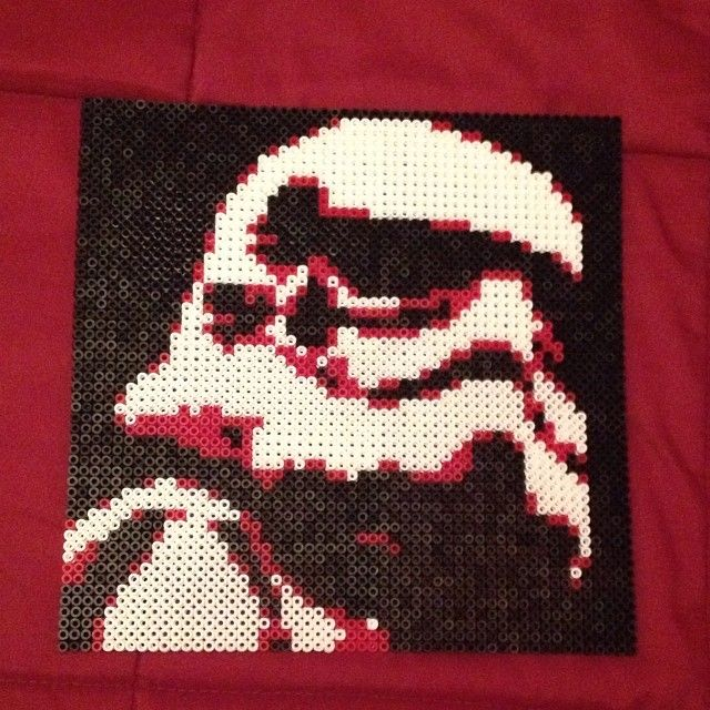 17 best images about starwars pixel art on pinterest - Hama beads cuadros ...