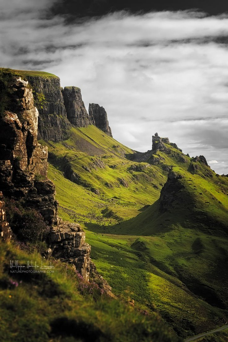 Isle of Skye, Scotland - this is truly an incredible place! I remember hiking through here!