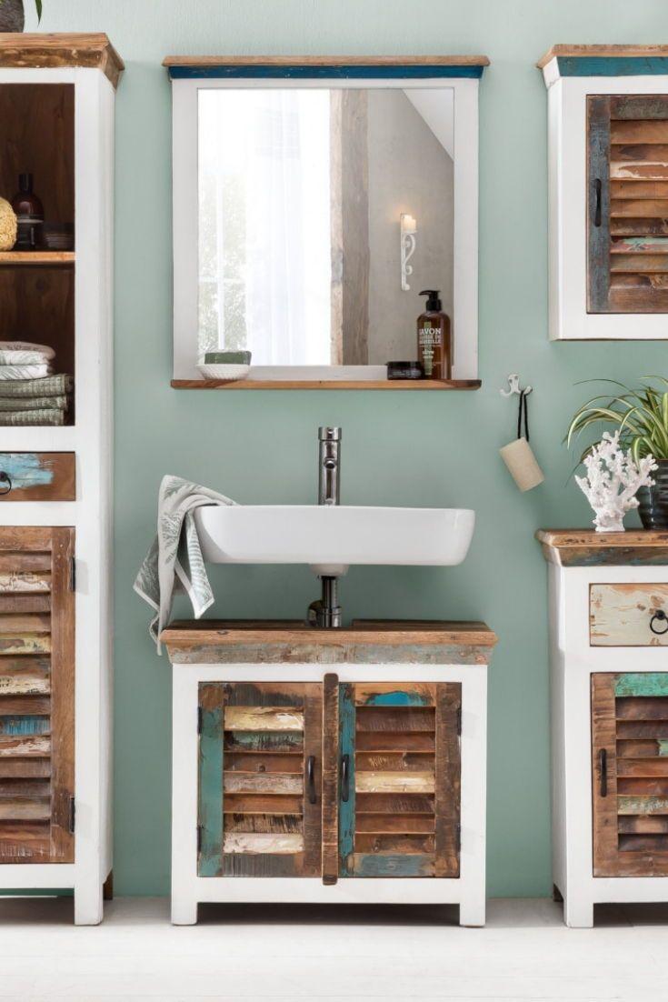 Woodkings Shop Waschbeckenunterschrank Schrank Bad Einrichten
