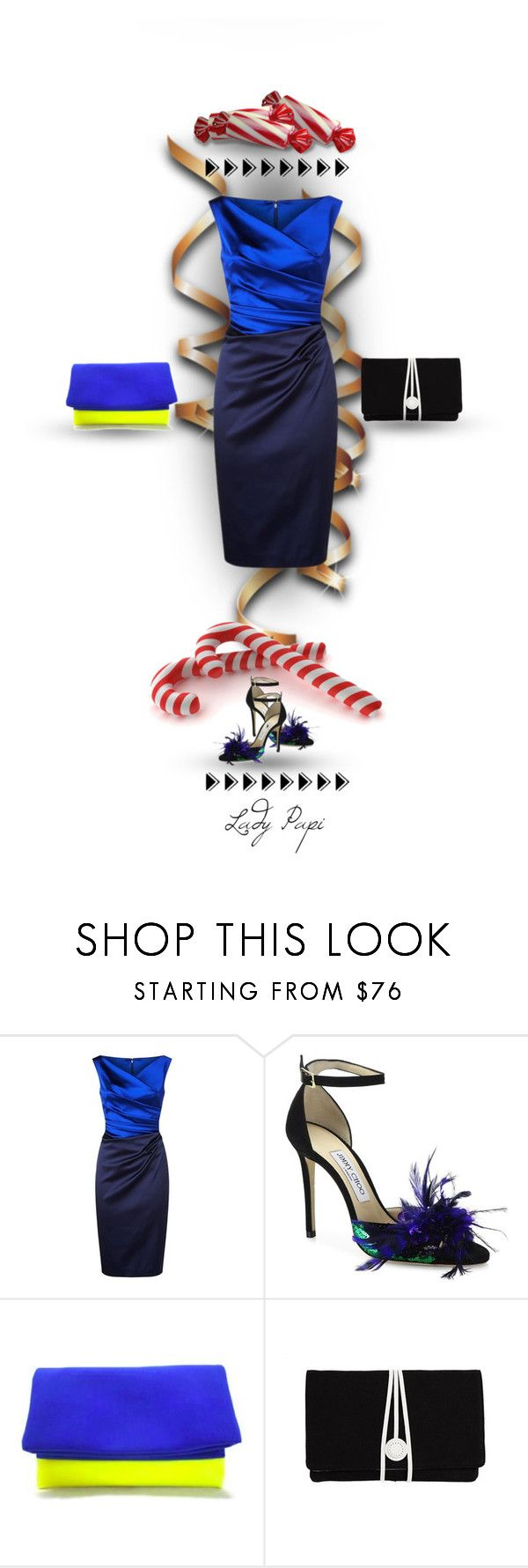 """""""Sweet Classic"""" by papillon-ze-cat ❤ liked on Polyvore featuring Talbot Runhof, Jimmy Choo, FC Select Design and Torula Bags"""