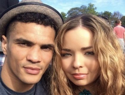 Casey Wicks is the pretty longtime girlfriend of British/ Nigerian Olympic boxer Anthony Ogogo who is a contestant on the 13 season of Strictly Come Dancing