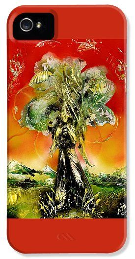 The Sentinel IPhone 5 / 5s Case Printed with Fine Art spray painting image The Sentinel by Nandor Molnar (When you visit the Shop, change the orientation, background color and image size as you wish)