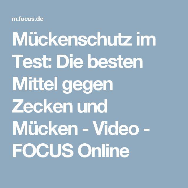 Mückenschutz im Test: Die besten Mittel gegen Zecken und Mücken - Video - FOCUS Online