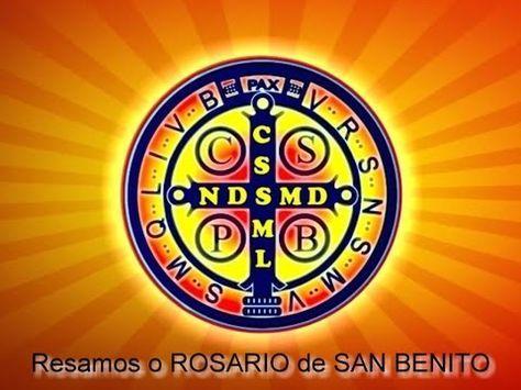 ROSARIO E HISTORIA LA MEDALLA DE SAN BENITO - YouTube