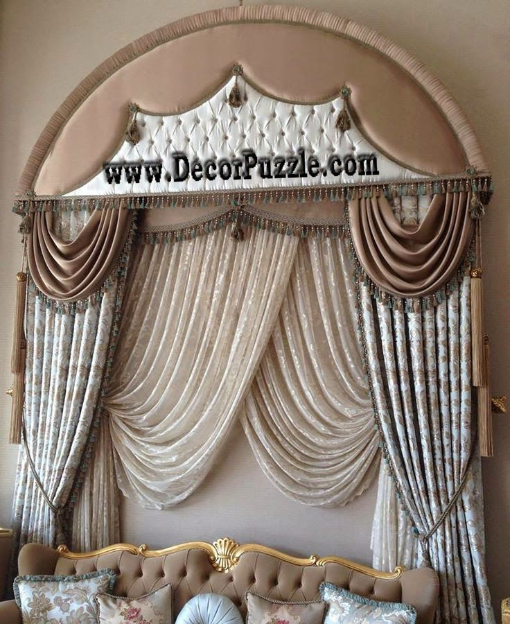 Stylish French Country Curtains For Living Room, Luxury Curtains 2017