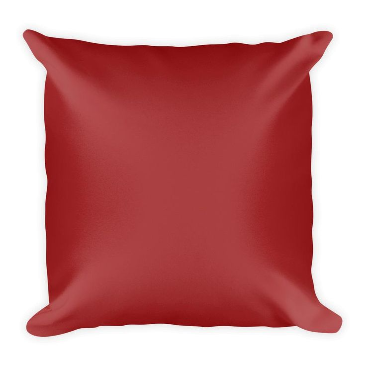 Brown Square Pillow
