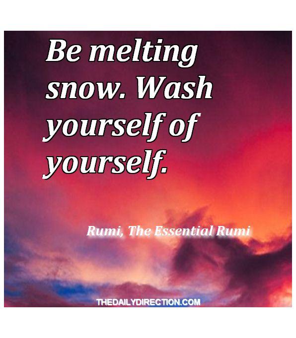Stimulating quote of Rumi  ★  #inspirational #quote #rumi