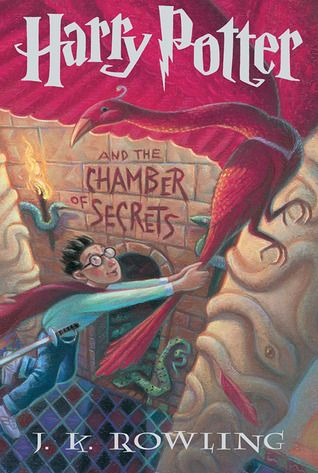 Harry Potter and the Chamber of Secrets (Harry Potter, #2) - The Dursleys were so mean and hideous that summer that all Harry Potter wanted was to get back to the Hogwarts School for Witchcraft and WIzardry. But just as he's packing his bags, Harry receives a warning from a strange, impish creature named Dobby who says that if Harry Potter returns to Hogwarts, disaster will strike.