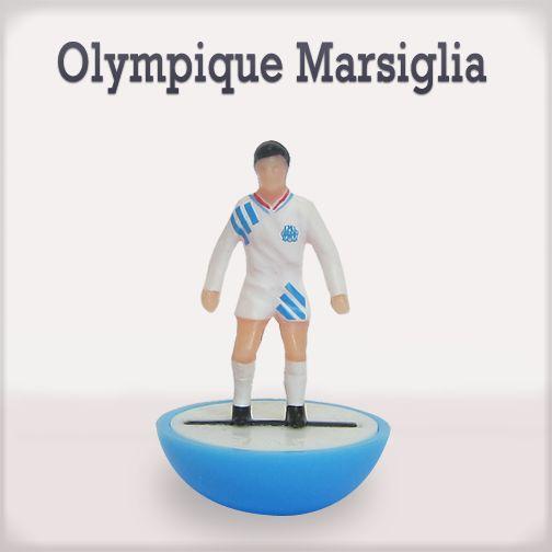 Olympique Marsiglia #edicola #subbuteo #collezione