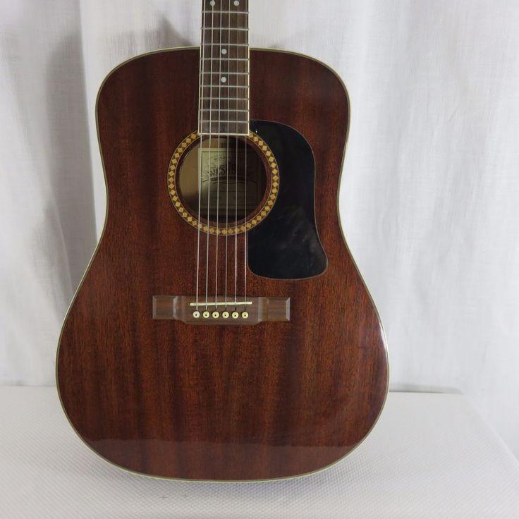 Washburn Acoustic Guitar D-100M Solid Mahogany Standard Dreadnought #Washburn
